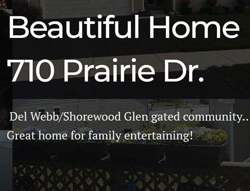 710 Prairie Rd – House Sale mini website